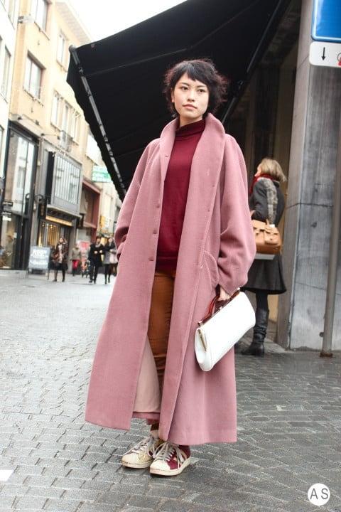 long-pink-coats