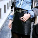 How To Style Black mini LEATHER SKIRTS?