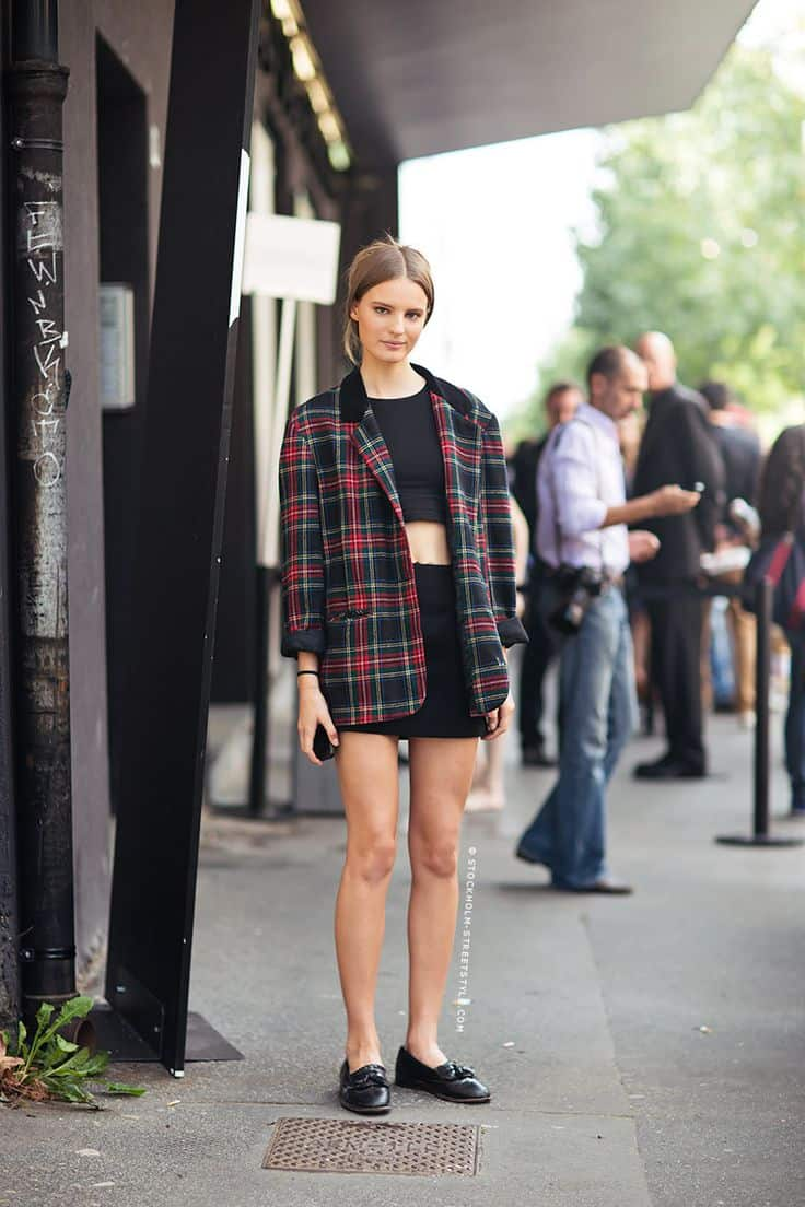 grandma gets grungy. well plaid, ladies! – the fashion tag blog