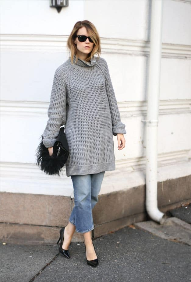 street style boyfriend sweater SWEATERS Styles For Fall. One Trend OR All Is In?