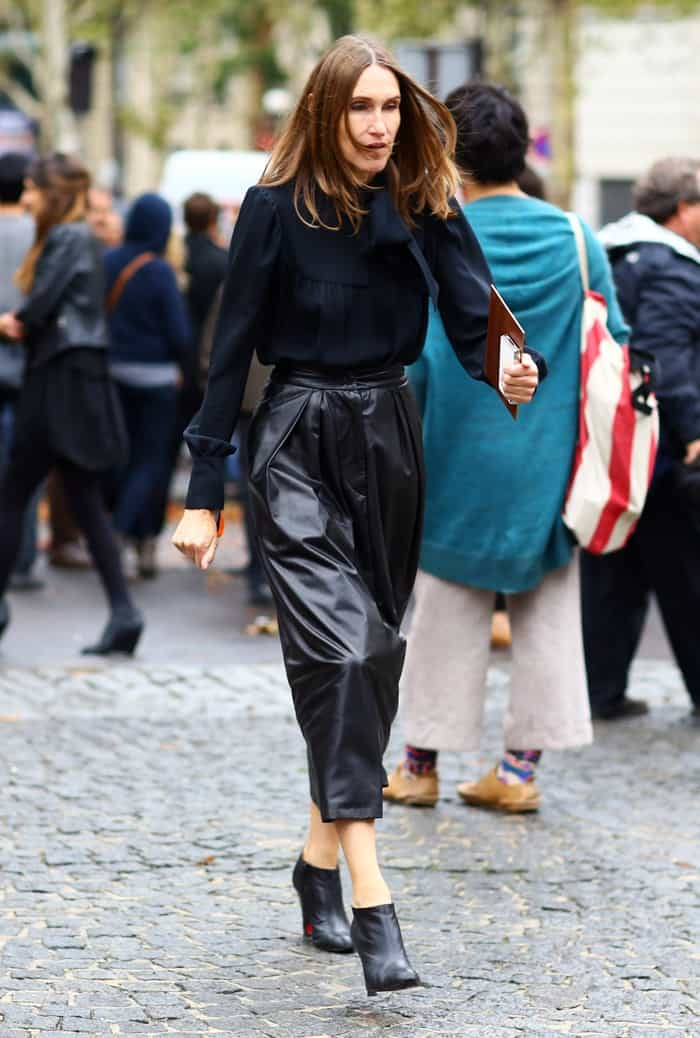 How Big Are Your Leather Trousers The Fashion Tag Blog