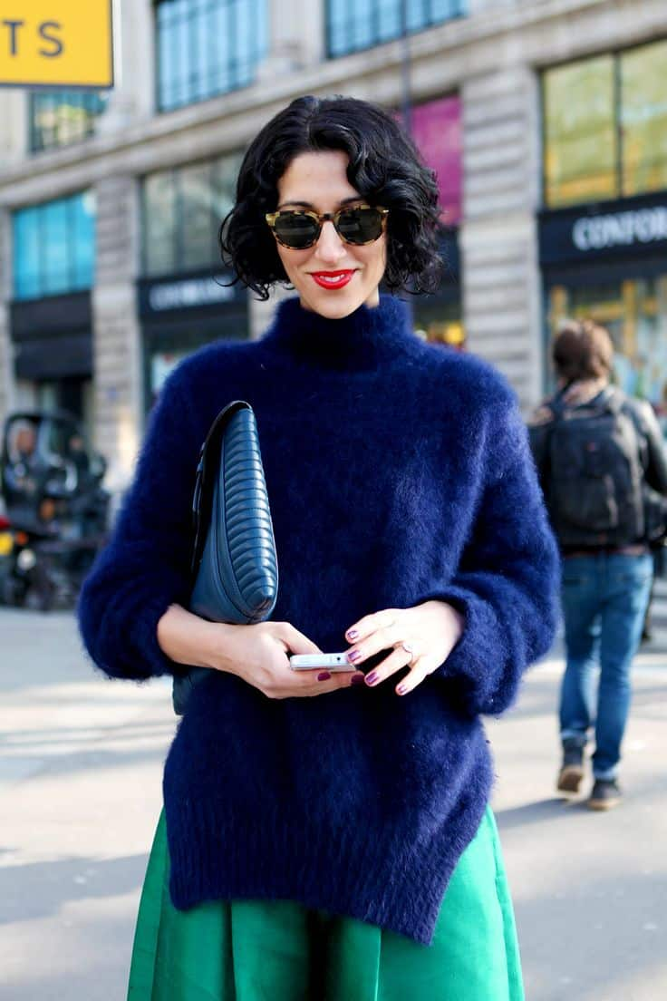 street style stetement sweaters winter SWEATERS Styles For Fall. One Trend OR All Is In?