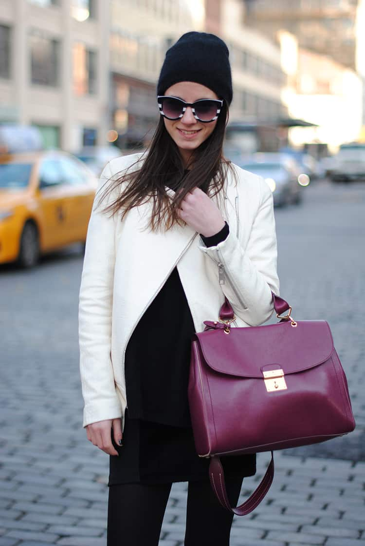 streetstyle-white-leather-jacket