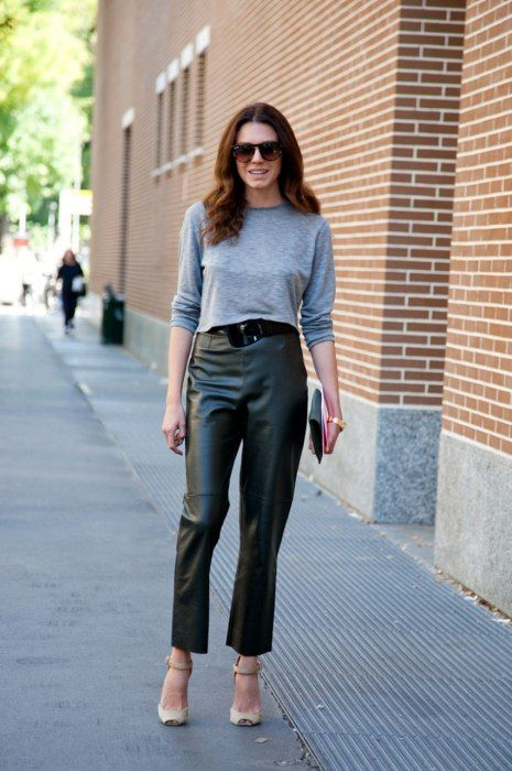 tapered-leather-pants