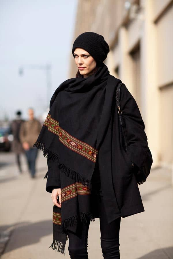 blanket-scarf-street-styleblanket-scarf-street-style
