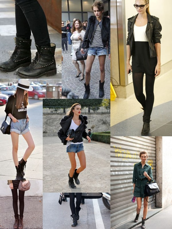 Shoes Dilemma: Combat OR Motorcycle BOOTS For 2014 Winter ...