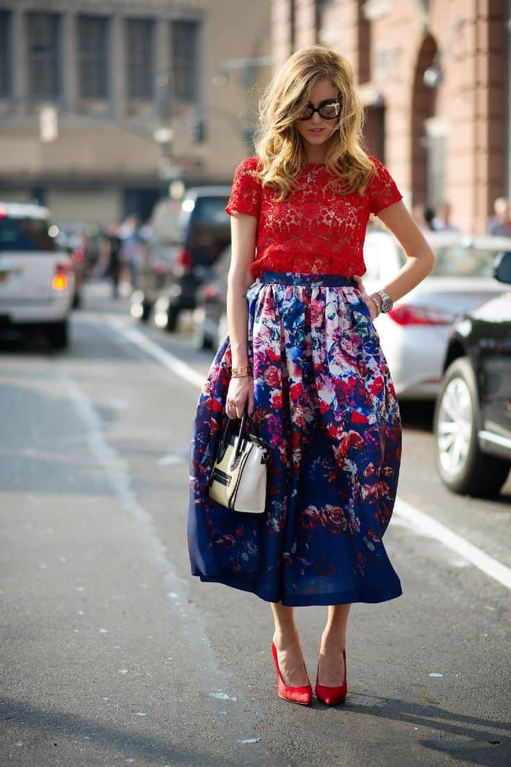 how-to-wear-midi-full-skirts
