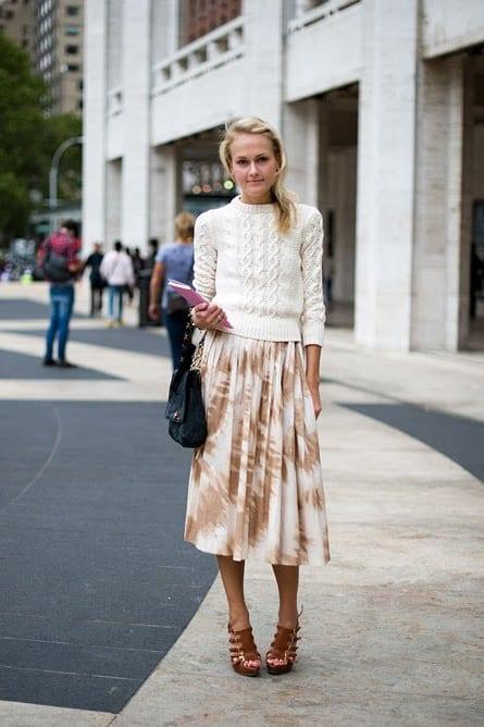 midi skirt style 4 fashion tag
