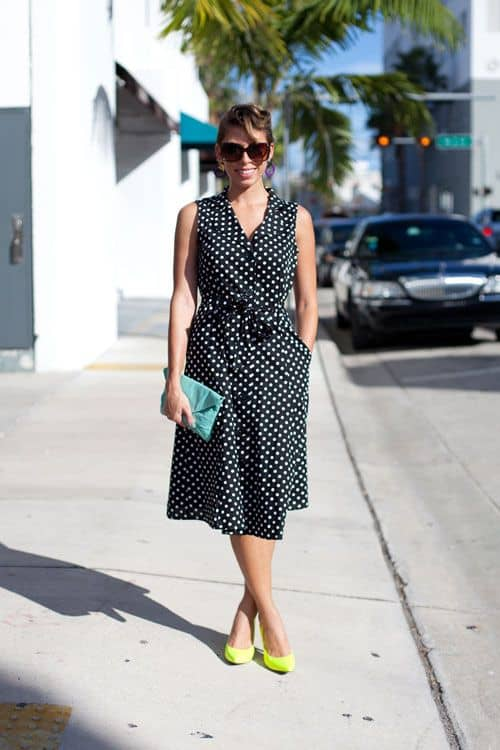 retro-dress-polka-dots-street-style