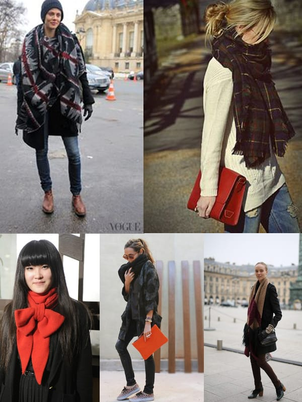 Winter Trend Scarves Why We Love Them The Fashion