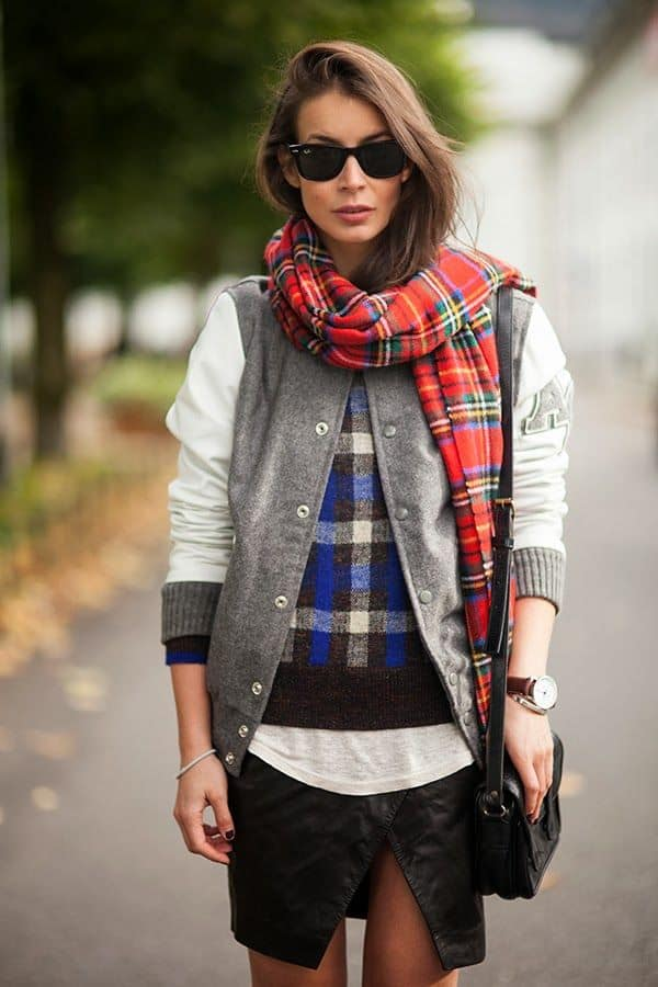 streetstyle-checkered-scarf