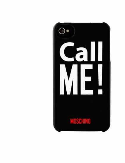 Moschino phone case