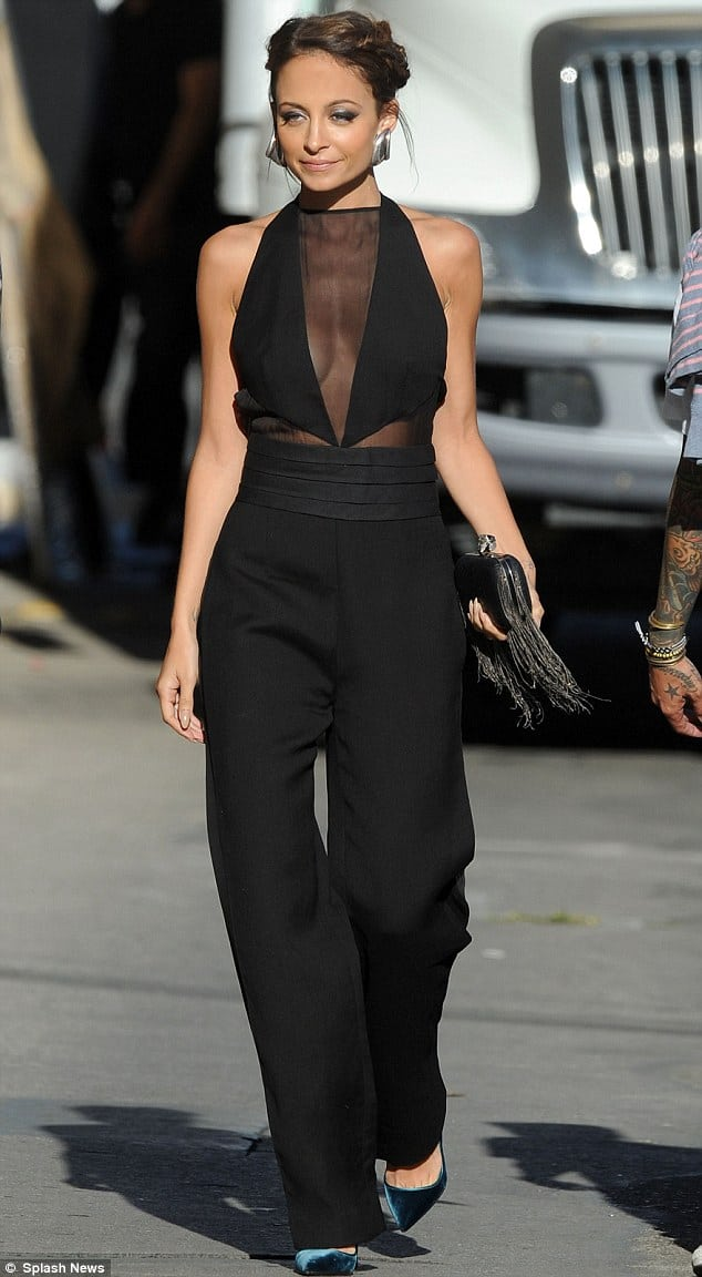 nicole-richie-black-jumpsuit