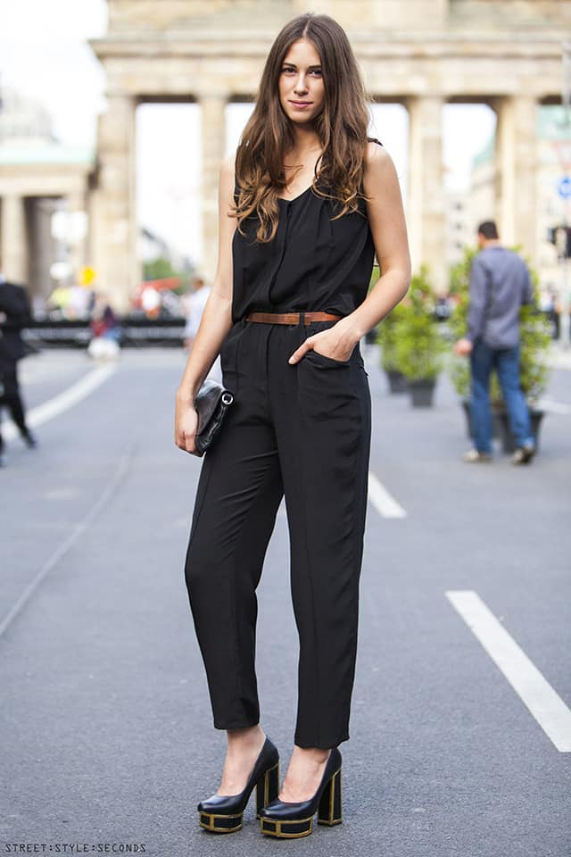 Black Jumpsuits Or Lbds For Nye Party The Fashion Tag Blog