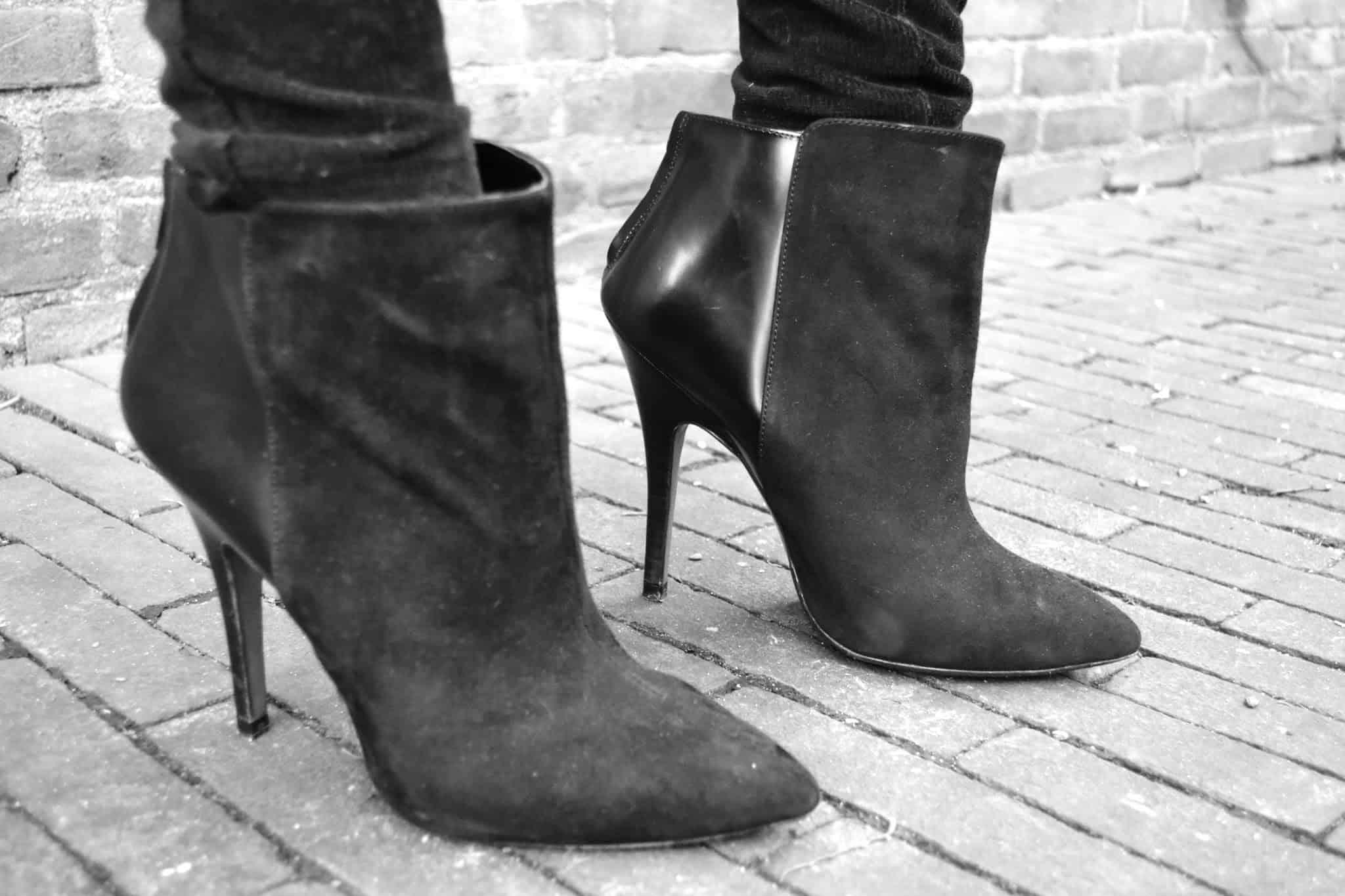 zara pointy ankle boots-street-styl