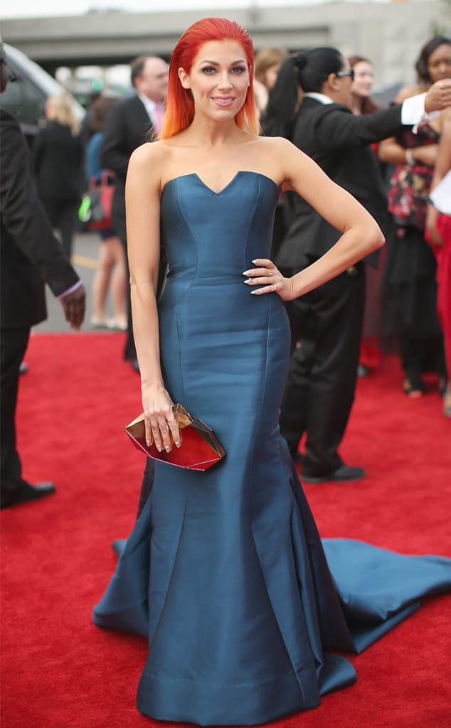 Bonnie-McKee-2014-Grammy-red-carpet-dresses