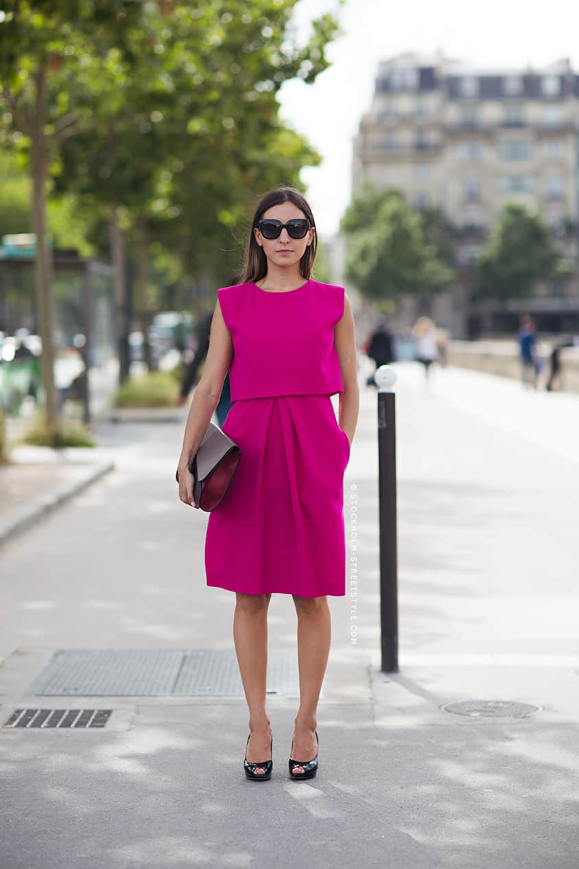 bright pink dress The PINK Invasion!