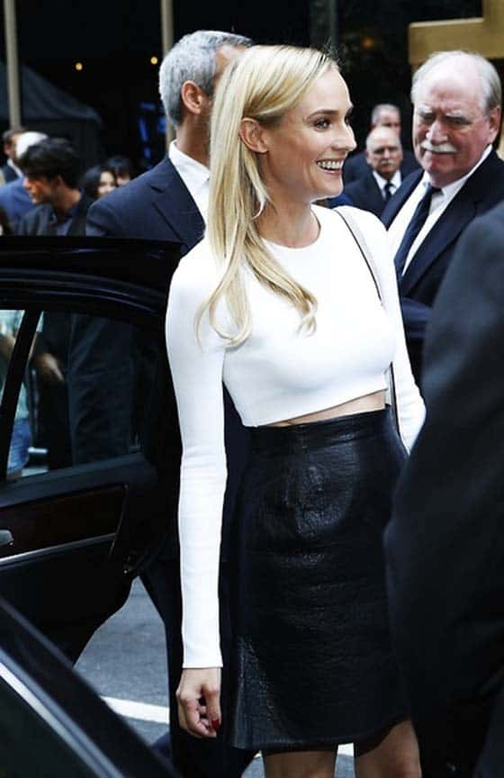 crop top diane kruger Crop Tops: The Scariest Trend?!