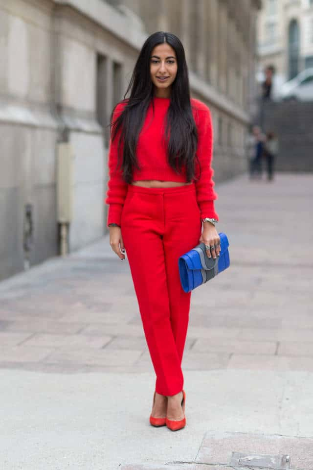 cropped sweater street style Crop Tops: The Scariest Trend?!