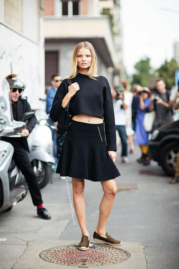 cropped top 2014 trend Crop Tops: The Scariest Trend?!
