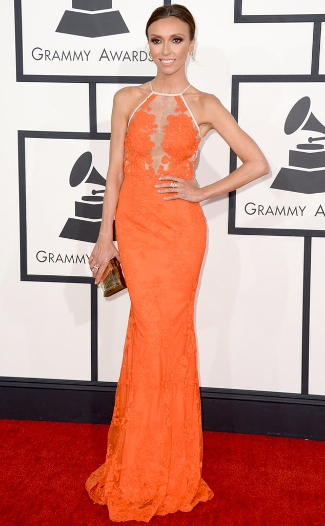 giuliana-rancic-2014-Grammy-red-carpet-dresses