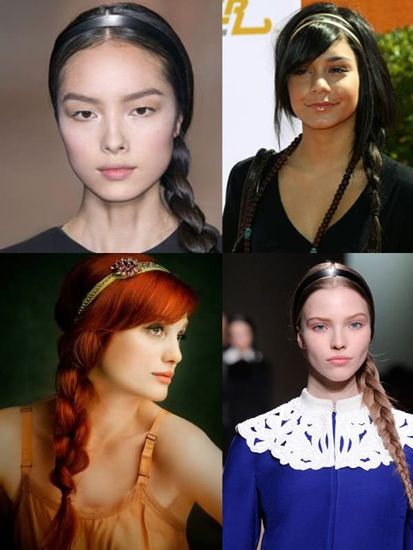 headband and braid 2014 Hair Trends Straight From The Runway!