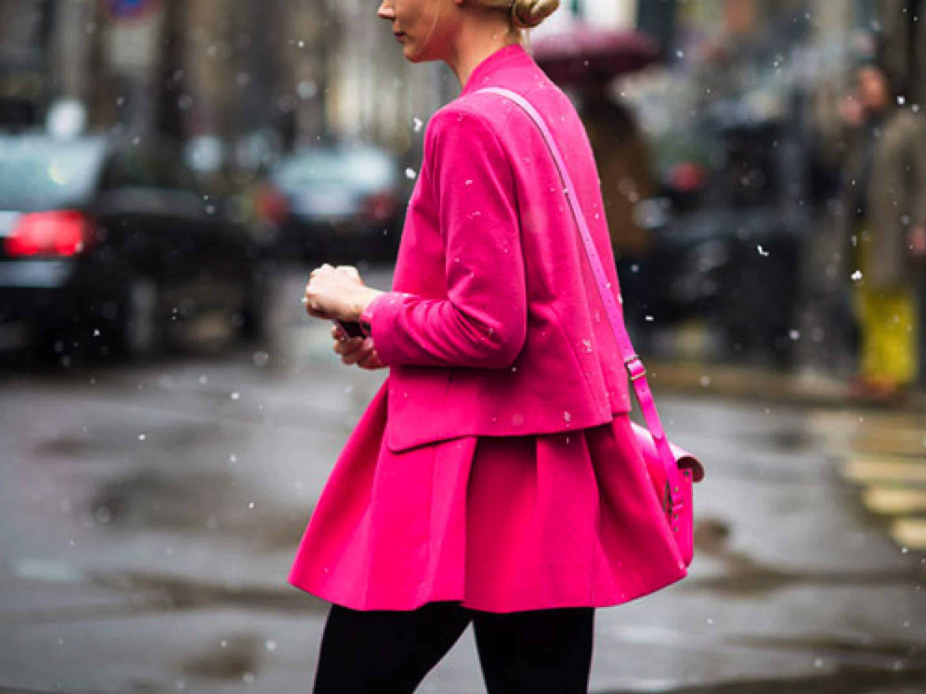 neon pink streetstyle The PINK Invasion!