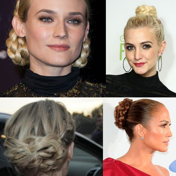 pleated buns hairstyle tren 2014 Hair Trends Straight From The Runway!
