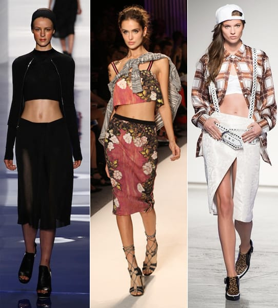 spring 2014 trends cropped tops Crop Tops: The Scariest Trend?!