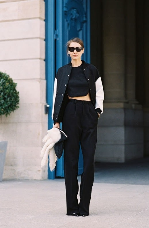 street style crop tops bare midriffs Crop Tops: The Scariest Trend?!