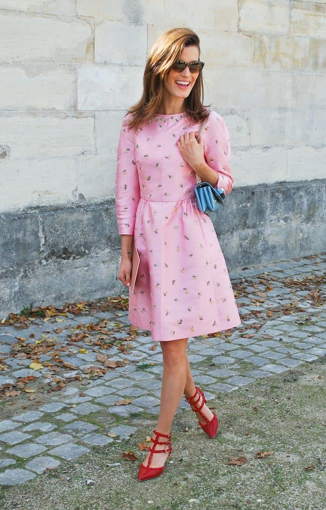 streetstyle-pink-dress
