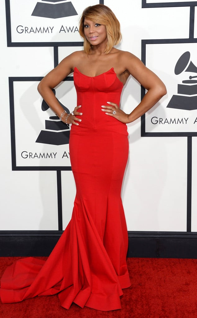 tamara-braxton-2014-Grammy-red-carpet-dresses