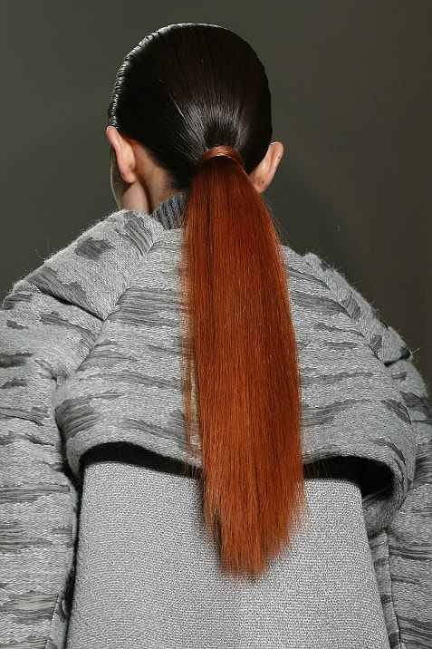 two tone pony 2014 Hair Trends Straight From The Runway!