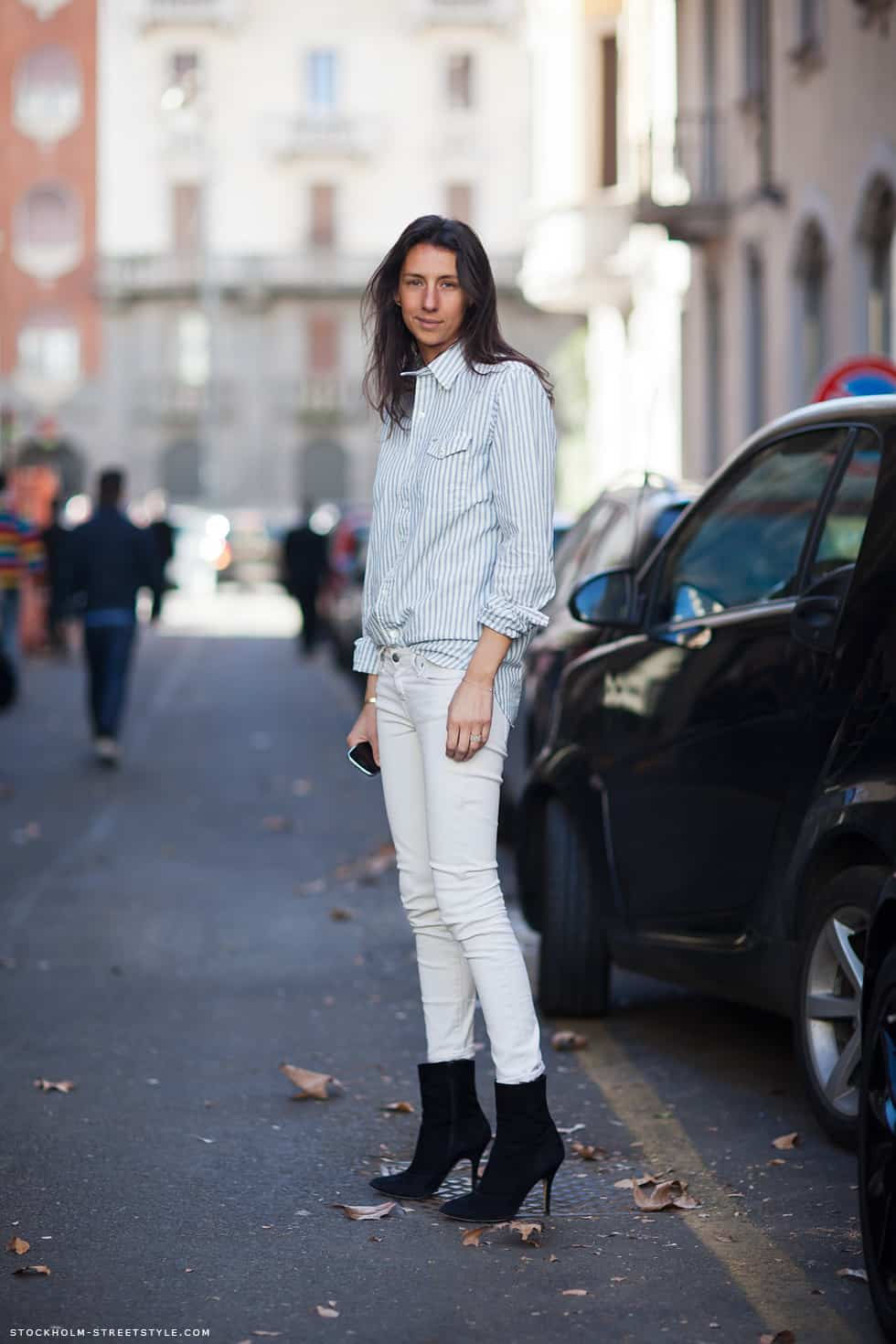 White Jeans In Winter. What Do You Think? – The Fashion ...