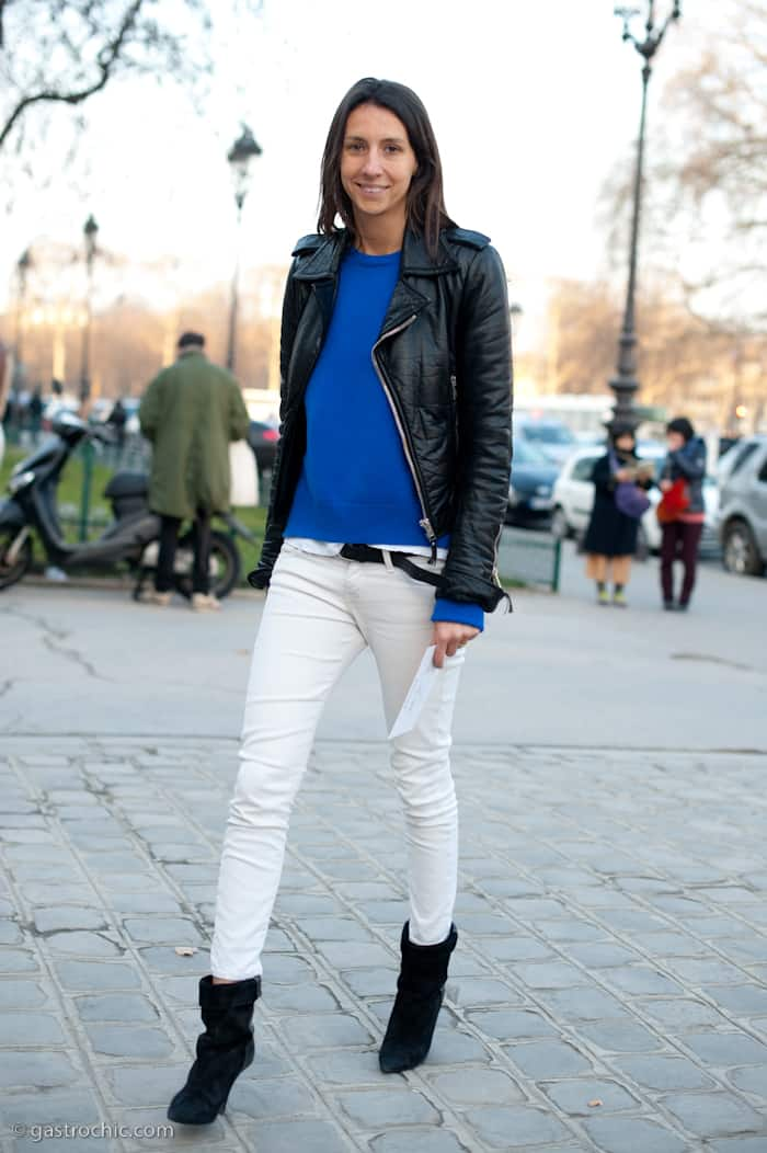 White Jeans In Winter. What Do You Think? | Fashion Tag Blog