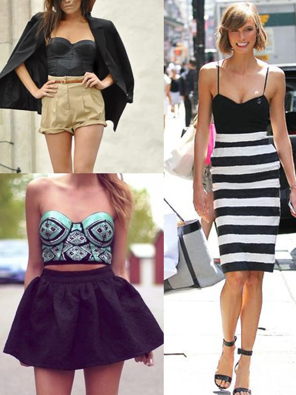 bustier tops Gettin Cheeky With It. BUSTIER TOPS Trend!