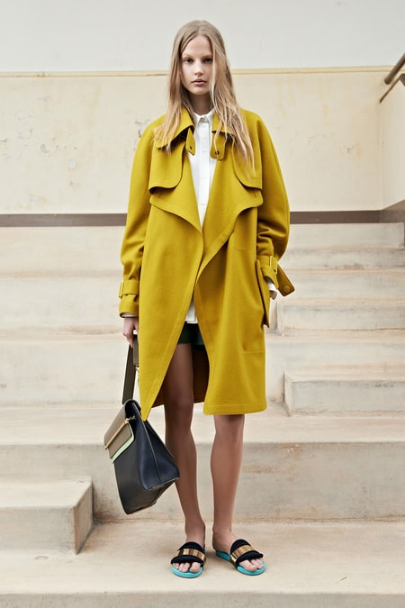 Chloe trench coat