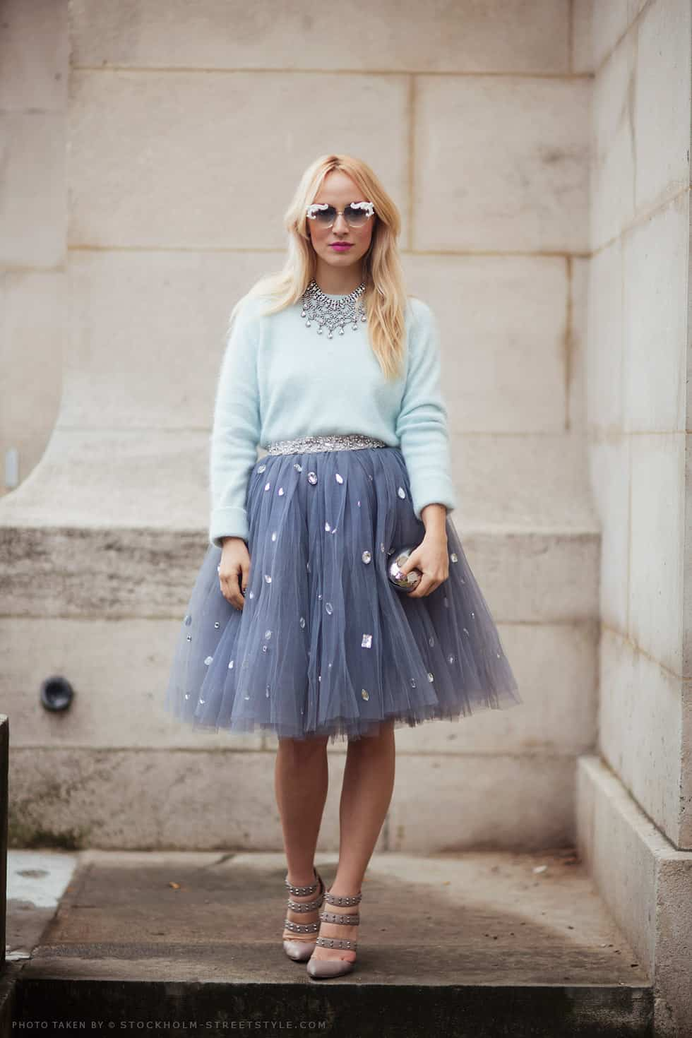 Do Bloggers Have A New Obsession The Tulle Skirt The Fashion Tag Blog
