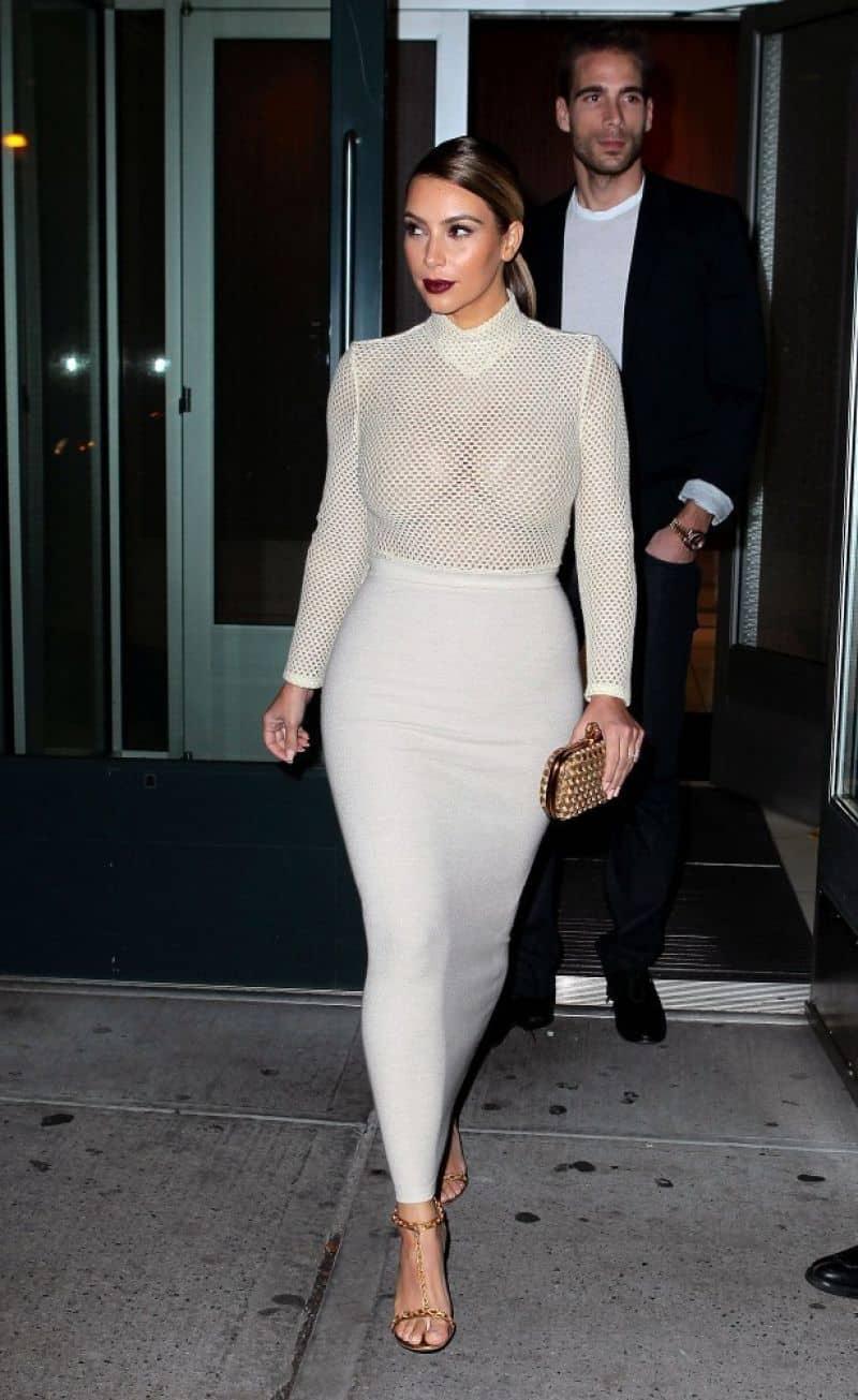 Kim Kardashian Blonde And New Style The Fashion Tag Blog