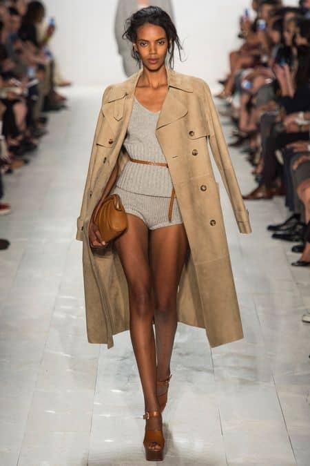 Michael Kors Spring 2014 - trench coat