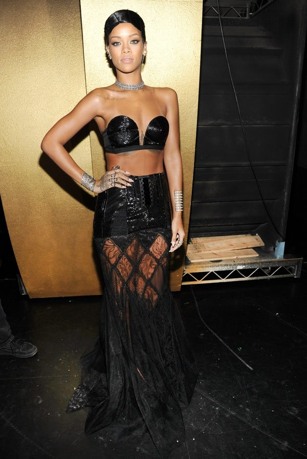 rihanna bustier tops Gettin Cheeky With It. BUSTIER TOPS Trend!