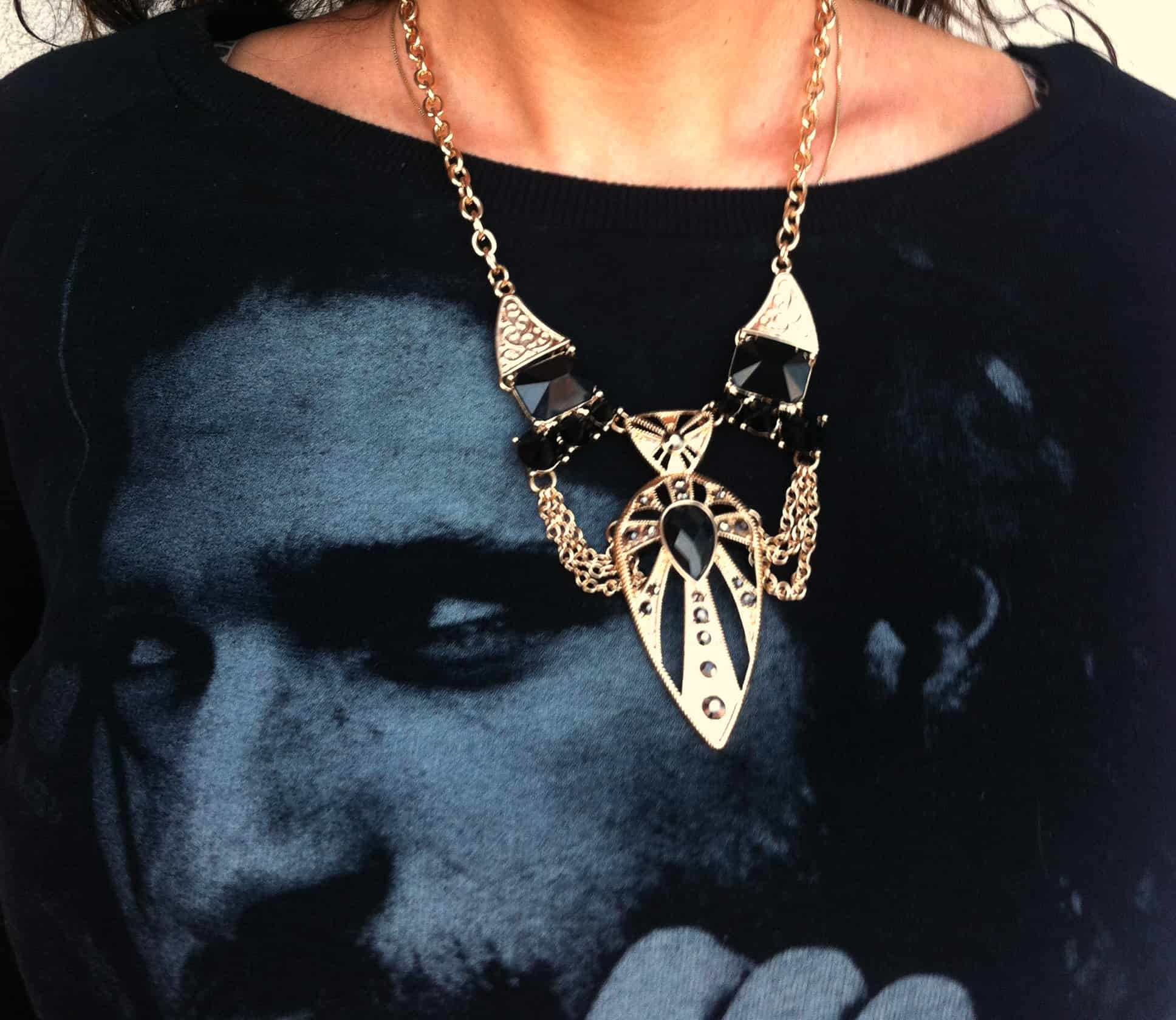ringsandtings statement necklace fashiontag Bling It Up! The Hidden Power Of Statement Jewellery