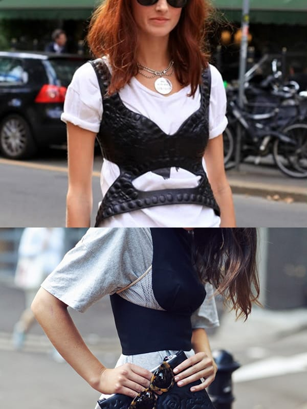 street-style-bustier-over-t