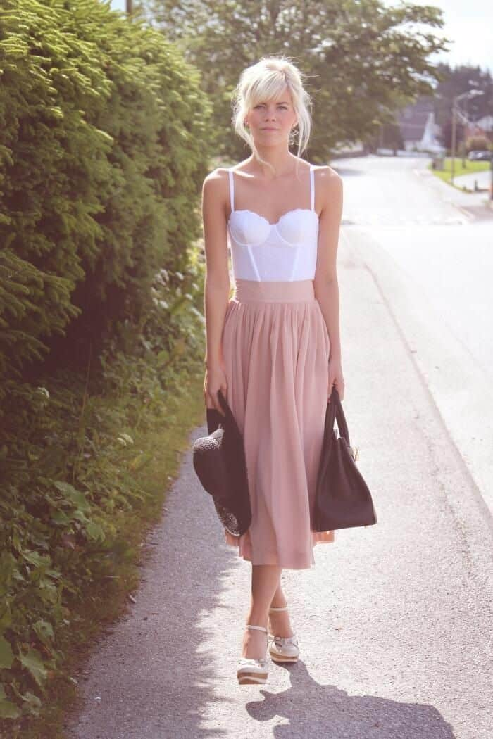 Gettin' Cheeky With It. BUSTIER TOPS Trend! – The Fashion ...