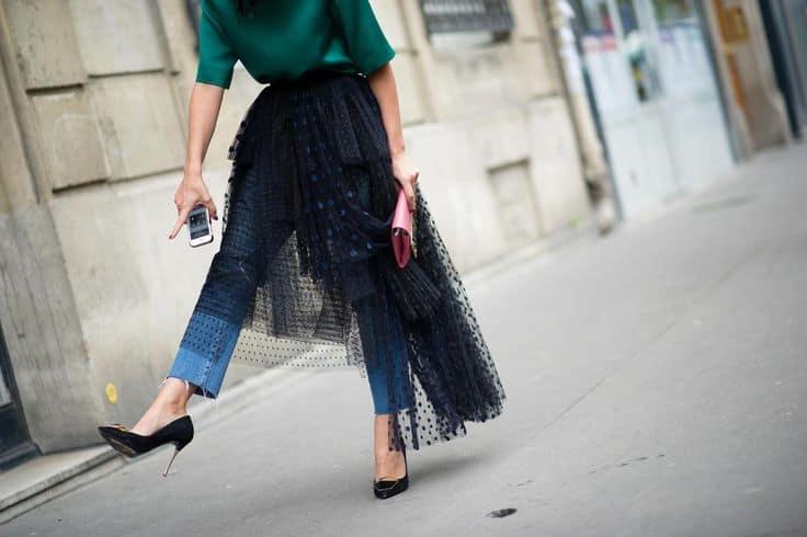 Resultado de imagen de tulle jeans