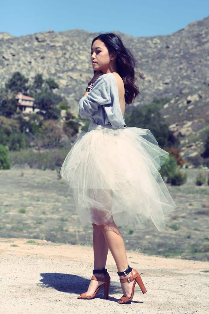 How to style tulle skirts. As you may know, I started making tutus aka tulle skirts, as an experiment in A ballerina fashion trend was on its way! Very soon, a .