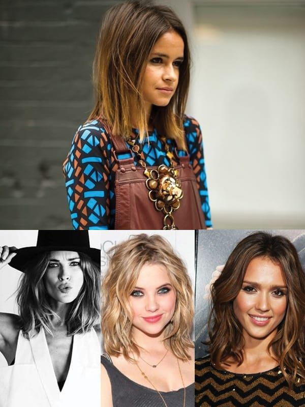 2014 hair trends lob 6 Hairstyles Talk: The LOB VS The EXTRA LONG Hair