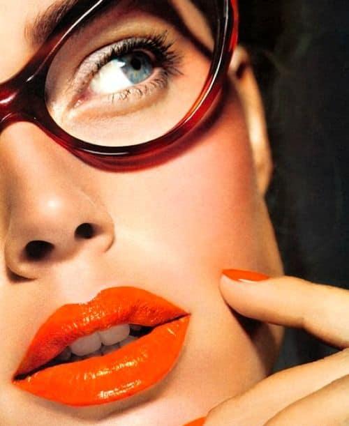 2014 spring trend tangerine lips In The Land Of ORANGE LIPS