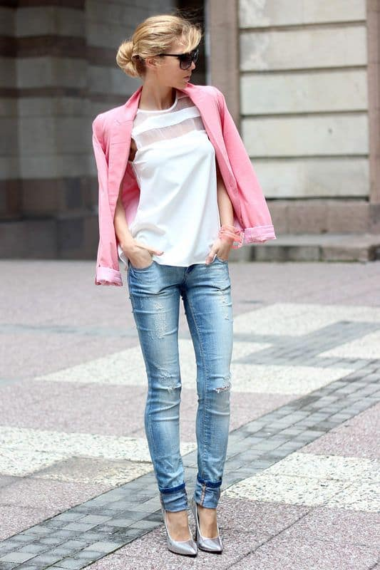 Cuffed Jeans Or How To Look Effortlessly Chic The Fashion Tag Blog