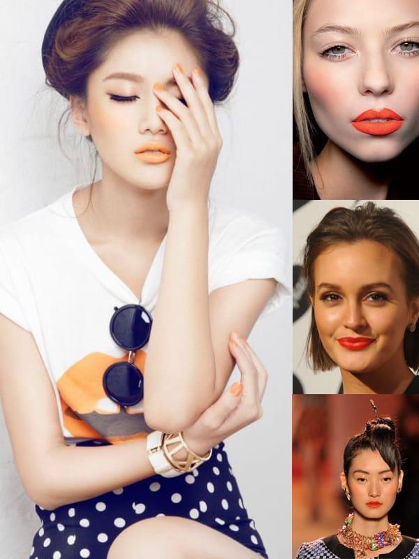 lipstick trend orange In The Land Of ORANGE LIPS